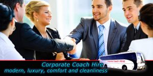 corporate coach hire in Sydney